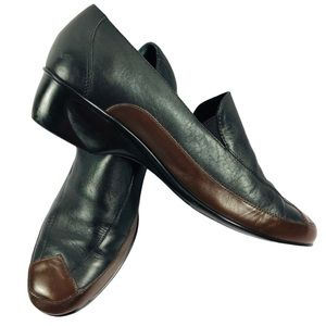 Walking Cradles Genuine Leather Loafers 9  2-tone